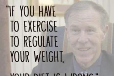 Viktminskning handlar inte om träning
