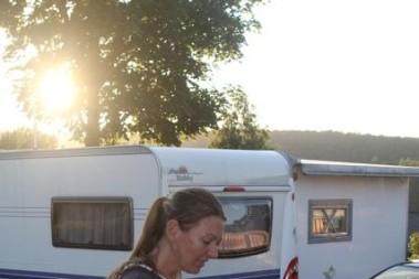 Grillning o solnedgång