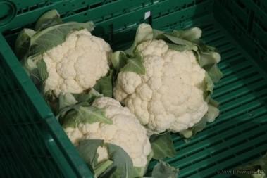 Besök på grönsaksmarknad