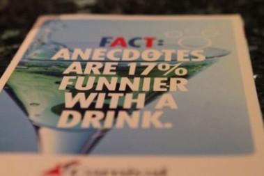 Vadå uppmuntra alkoholintag?