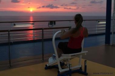 Fantastisk morgonträning med kostdoktorn