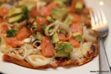 En barn- & en vuxenpizza – det är söndag!