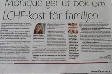 Trevlig läsning i den lokala tidningen