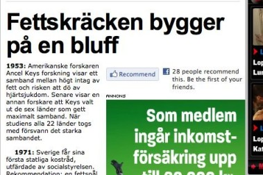 Expressen goes (VERY) lchf!