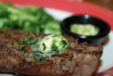 Middag – en saftig stek!
