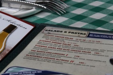 Positivt och negative om LCHF på restaurang!