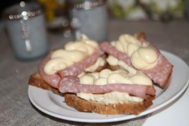LCHF smörgåsar till lunch