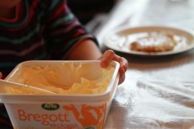 Ut med margarin, in med smör till barnen