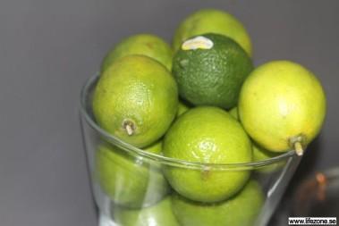 Lime är oxå frukt