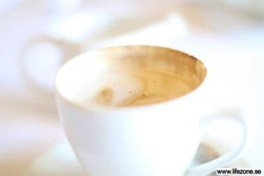 Morgonkaffe utan smör