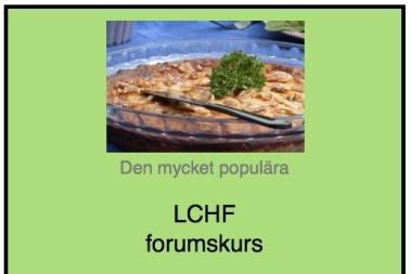LCHF och viktminskning