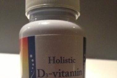 Glöm inte D-vitaminer, jag har beställt!