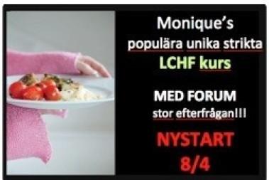 LCHF kurs med forum, inspiration