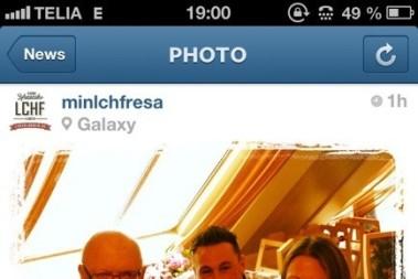 Feedback via instagram