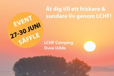 Snart LCHF camping – boka nuuuu!