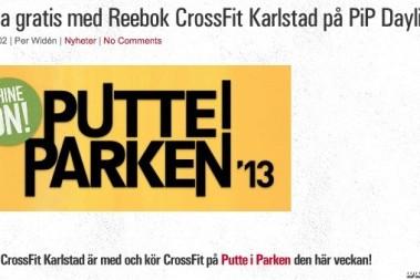 Träna med Crossfit till Putte-i-Parken daylight