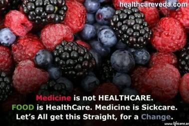 Är medicin hälsovård?