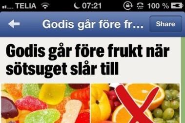 Fruktsocker och socker(?)