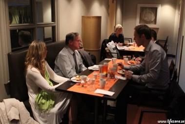 Frukost med Lustig, Eenfeldt, Rostrup o Trandem