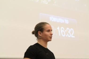 Svensk mästare i kettlebells på scen, 21 år!