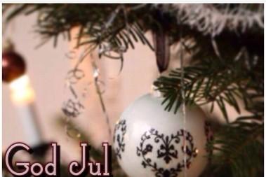God Jul från mig till dig