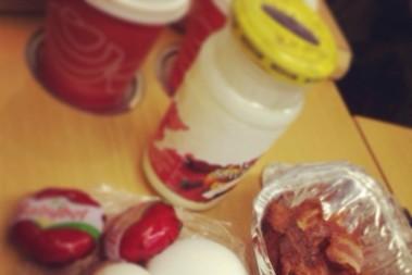 LCHF frukost på SJ
