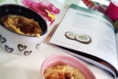 LCHF kokosgröt till frukost
