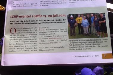 Var med på sommarens stora LCHF event!