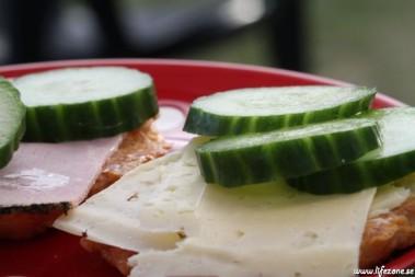 LCHF smörgås till frukost