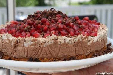 LCHF chokladtårta