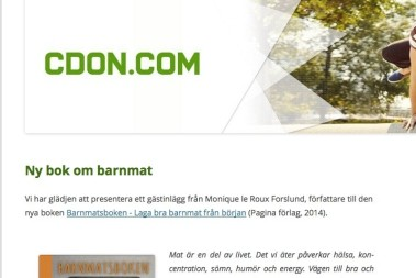 Jag gästbloggar på CDON.com