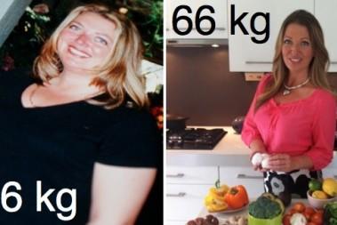 Från 106kg till 66kg – lite pepp!