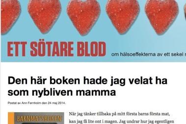 Ann Fernholm recenserat BARNMATSBOKEN