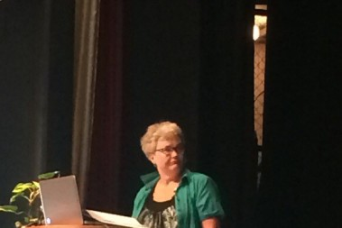 Margareta på scen