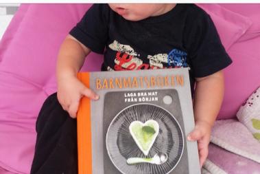 Barnmatsboken får mycket bra recensioner!