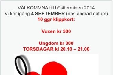 Snart Zumba i Karlstad igen!