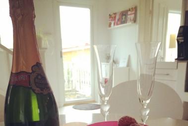 Jordgubbar o champagne