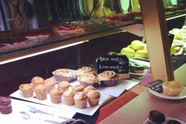 Muffins, kakor o godis