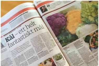 Trendig och hipp grönsak