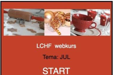 LCHF webkurs med julpepp!