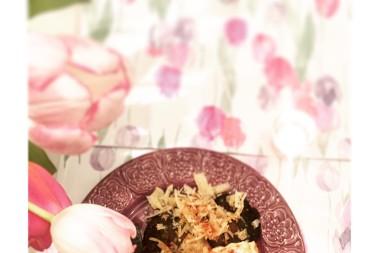 LCHF vegetariskabiffar med cayennepepparcreme