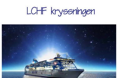 Snart ses vi på LCHF kryssningen