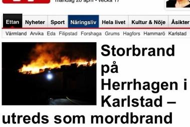 Det brinner…