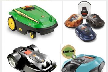 Vilken robotgräsklippare?