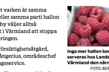 Farliga hallon – stop i Värmland
