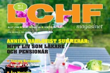 Vilken framsida på LCHF magasinet!