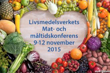 Anmält till kostkonferens på Livsmedelsverket