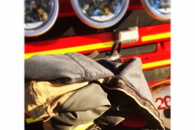 Brandmän o lchf-fika