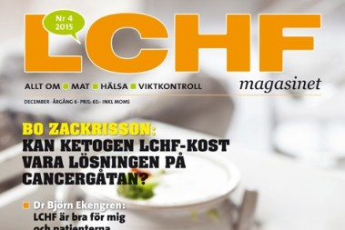 LCHF magasinet – snart här!