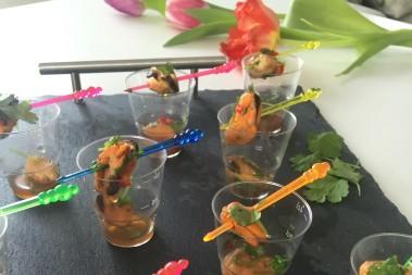 Boksläpp firades med Cocktailparty!